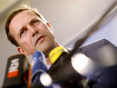 Regierungssprecher Steffen Seibert. Foto: Maurizio Gambarini/Archiv
