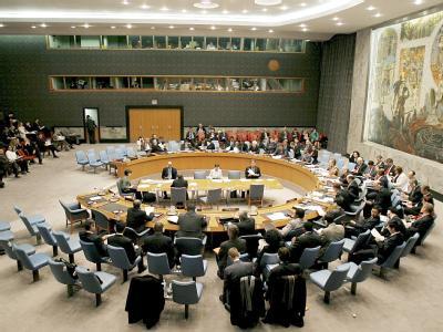 Sitzung des UN-Sicherheitsrates. Foto: Justin Lane/Archiv