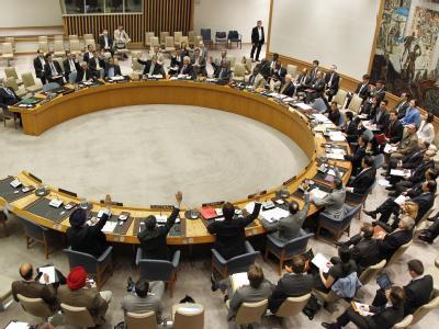 Sitzung des UN-Sicherheitsrats