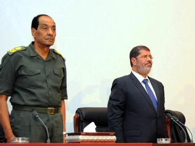 Der ägyptische Präsident Mohammed Mursi hat Armeekommandeur und Verteidigungsminister Feldmarschall Mohammed Hussein Tantawi entlassen. Foto: epa/Archiv