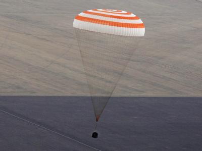 Sojus-Kapsel in Kasachstan gelandet