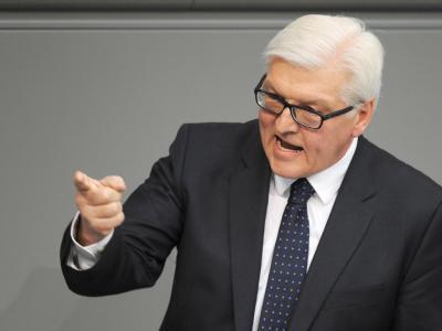Fraktionschef Frank-Walter Steinmeier hatte für eine Enthaltung votiert. Foto: Rainer Jensen