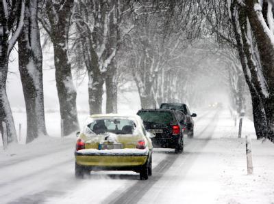 Trotz winterlicher Witterung gab es nur wenige Unfälle.