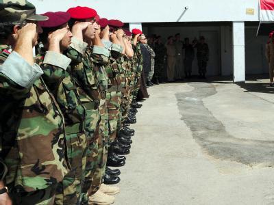 Bei den Beratungen des syrischen Nationalrats in Tunis geht es auch um die Frage, welche Rolle die Deserteure spielen sollen, die sich in den vergangenen Monaten auf die Seite der Protestbewegung geschlagen haben. Foto: Syrian Arab News Agency/ Archiv