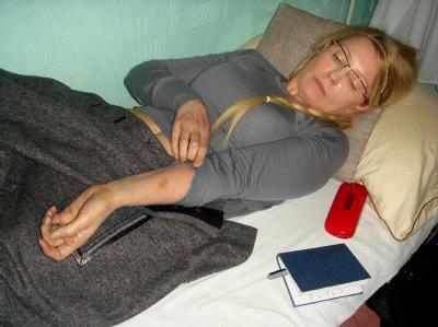 Will ihren Hungerstreik abbrechen: Ex-Regierungschefin der Ukraine, Julia Timoschenko. Foto: UKRPRAVDA/Archiv