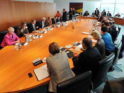 Letzte Kabinettssitzung