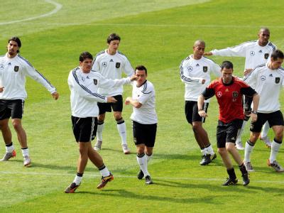 Die Vorbereitung fürs Spiel gegen Ghana laufen auf Hochtouren.