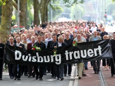 Trauerfeier Loveparade