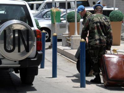 UN-Beobachter verlassen Syrien