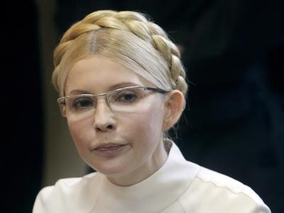 An ihrem Schicksal macht sich die Kritik des Westens fest: Die ehemalige ukrainische Regierungschefin Julia Timoschenko in einem Gerichtssaal in Kiew. Foto: Sergey Dolzhenko
