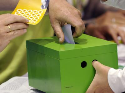 Die Grünen streiten über eine Urwahl zur Bestimmung ihrer Spitzenkandidaten für den Bundestagswahlkampf. Foto: Tim Brakemeier
