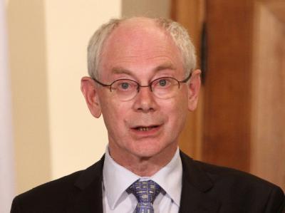 EU-Ratspräsident Herman Van Rompuy. Foto: Katia Christodoulou / Archiv