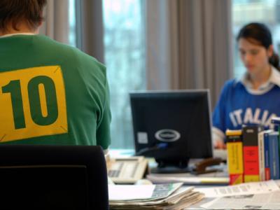 Fußball-WM im Büro