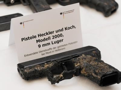 Waffe der Heilbronner Polizistin