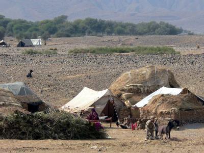 Hütten im pakistanischen Süd-Waziristan: Diese Gegend gilt als Rückzugsgebiet der Taliban.