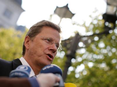 Außenminister Guido Westerwelle: «Deutschland steht der Türkei in dieser schweren Stunde bei.» Archivfoto: Rolf Vennenbernd