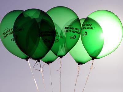 Politbarometer: Wenn am nächsten Sonntag Bundestagswahl wäre, kämen die Grünen laut «ZDF-Politbarometer» auf den Rekordwert von 20 Prozent (plus 1 Prozentpunkt).