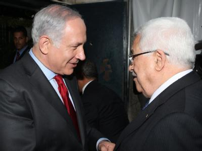 Netanjahu und Abbas