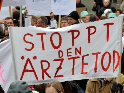 �rzteprotest in M�nchen