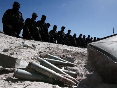 806 Soldaten der Afghanischen Nationalarmee (ANA) sind seit Jahresbeginn ums Leben gekommen. (Archivbild)