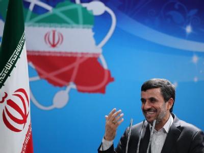 Irans Präsident Ahmadinedschad in Teheran. Foto: Website des Präsidenten