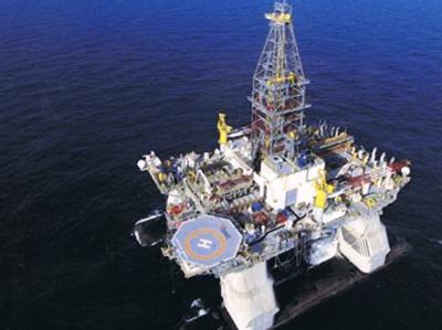 Die Die 121 Meter lange und 78 Meter breite Öl-Bohrinsel «Deepwater Horizon» war größer als ein Fußballfeld. (Foto: Transocean)