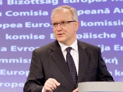 Der EU-Währungskommissar Olli Rehn.