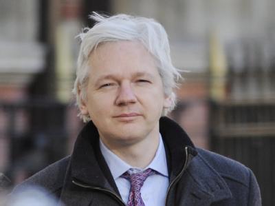 Wikileaks will mehr als fünf Millionen E-Mails des US-Unternehmens Stratfor veröffentlichen. In mehr als 4000 Mails sollen Julian Assange oder Wikileaks vorkommen. Foto: Acundo Arrizabalaga