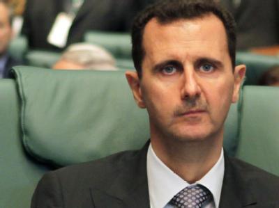 Syriens Präsident Baschar al-Assad: Der Westen hat lange gezögert - nun werden Rufe nach Rücktritt und Sanktionen laut. (Archivbild)