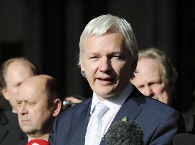 Wikileaks-Gründer Julian Assange. Foto: Facundo Arrizabalaga