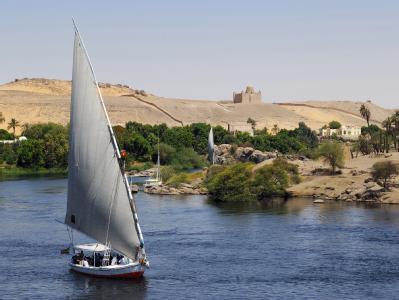 Der Ferienort Assuan in Ägypten: Die Touristen aus den USA war auf dem Weg in die 250 Kilometer entfernt gelegene Tempelstadt Abu Simbel. (Archiv- und Symbolbild)
