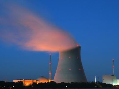 Kernkraftwerks Isar nahe dem niederbayerischen Landshut (Archivfoto).