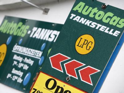 Autogas-Tankstelle in Parchim. Foto: Jens Büttner/Archiv