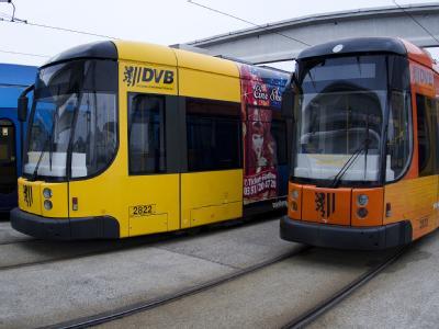 Straßenbahnen der Dresdner Verkehrsbetriebe AG