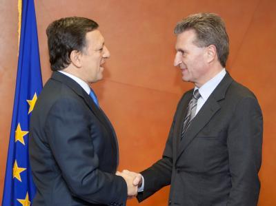 Barroso und Oettinger