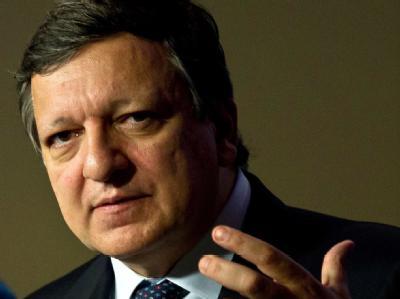 Für Barroso sind die Fiskalunion und die Bankenunion «Grundbausteine». Foto: Peer Grimm