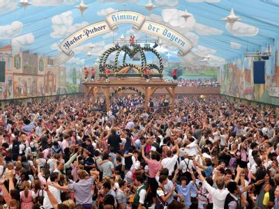 Symbol für bayerische Lebensfreude: Das Oktoberfest zieht jedes Jahr mehrere Millionen Menschen aus aller Welt auf die Theresienwiese.