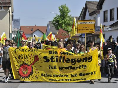 Protest in Biblis