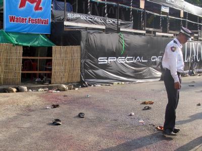 Anschläge Rangun