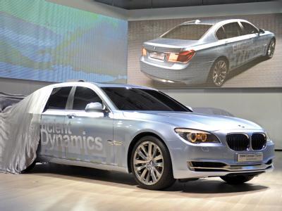 In diese Richtung soll es gehen: Hybrid-BMW auf der Detroit Auto Show (Archiv).