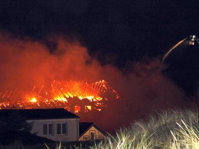 Brand auf Sylt