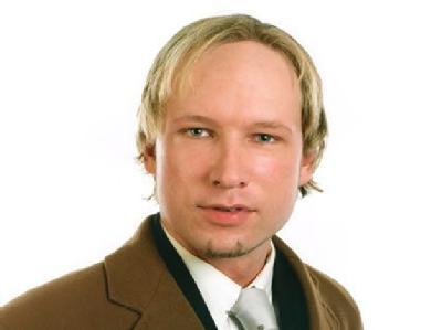 Tötete im Juli auf der Insel Utøya 69 Teilnehmer eines Jugendlagers: Rechtsradikaler und Islamhasser, Anders Behring Breivik. Foto: Screenshot