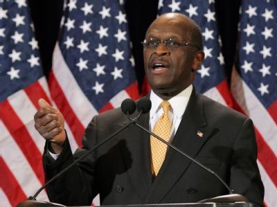 Der republikanische Präsidentschaftskandidat Herman Cain. Archivfoto: Roy Dabner