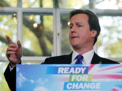 Tory-Chef David Cameron hatte den Briten ein Referendum über den Vertrag von Lissabon versprochen.