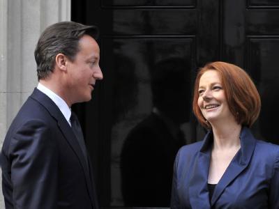 Cameron und Gillard