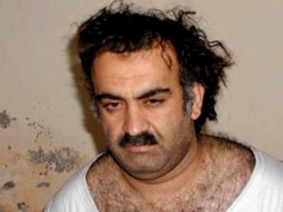 Der Ex-Chefplaner von El Kaida, Chalid Scheich Mohammed, nach seiner Festnahme (Archiv).