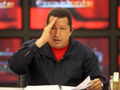 Venezuelas Präsident Hugo Chávez