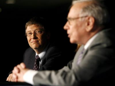 Bill Gates und Warren Buffett