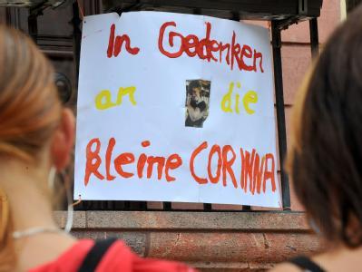 Gedenken an tote Corinna