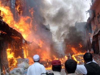 Anschlag in in Peshawar